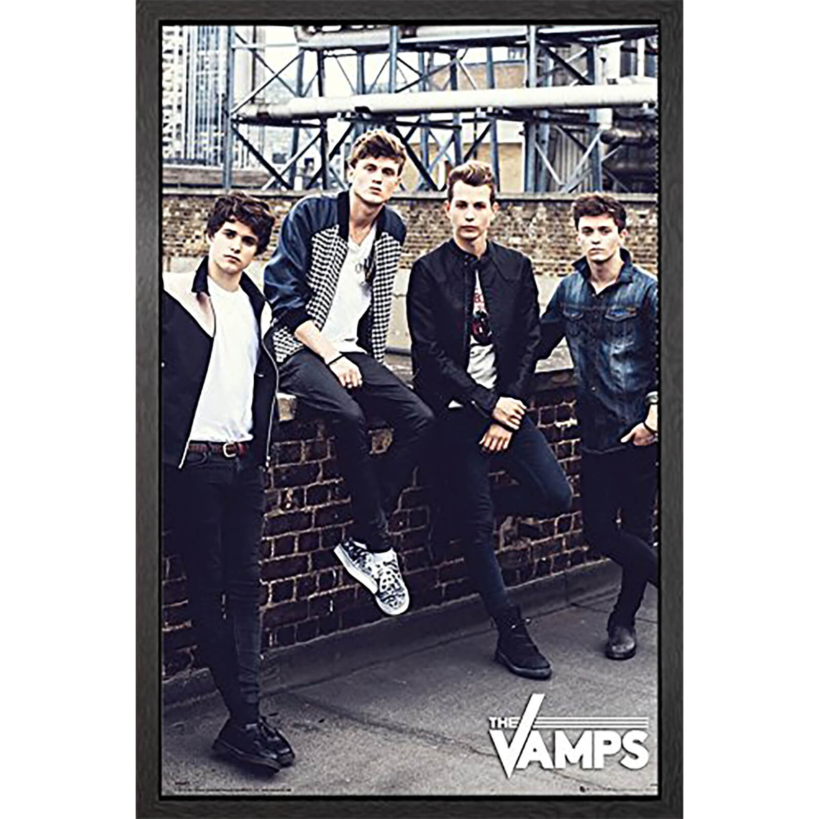The Vamps Wall - 61 x 91.5cm Framed Maxi Poster