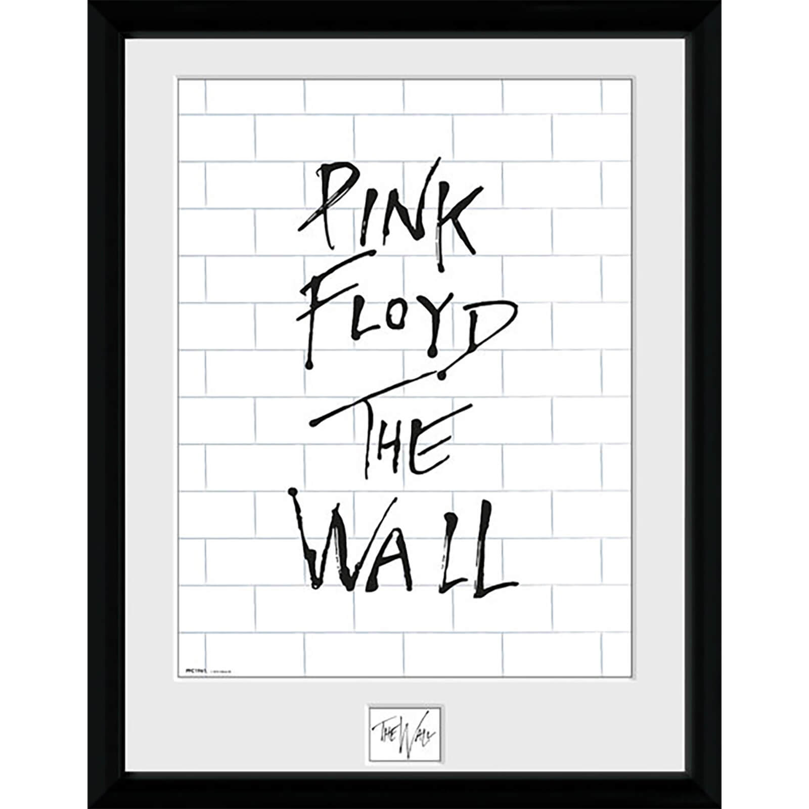 The Wall White Wall - 16 x 12 Inches Framed Photograph