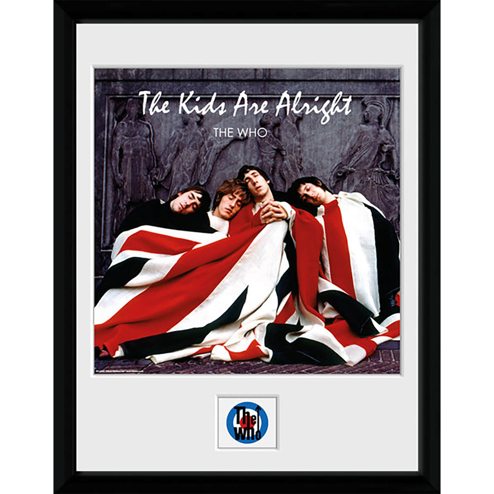 The Who the Kids Are Alright - 16 x 12 Inches Framed Photograph