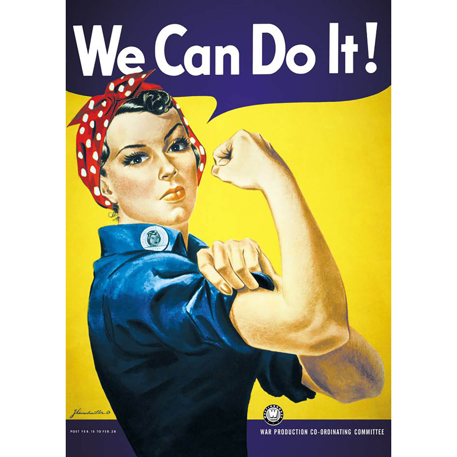 We Can Do It - 61 x 91.5cm Maxi Poster