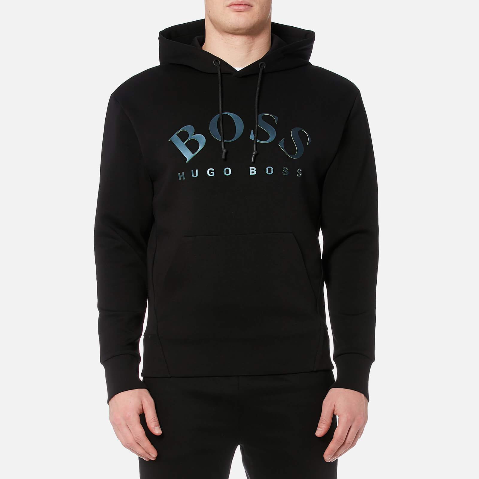 0bd98652 BOSS Green Men's Sly Hoody - Black Mens Clothing | TheHut.com