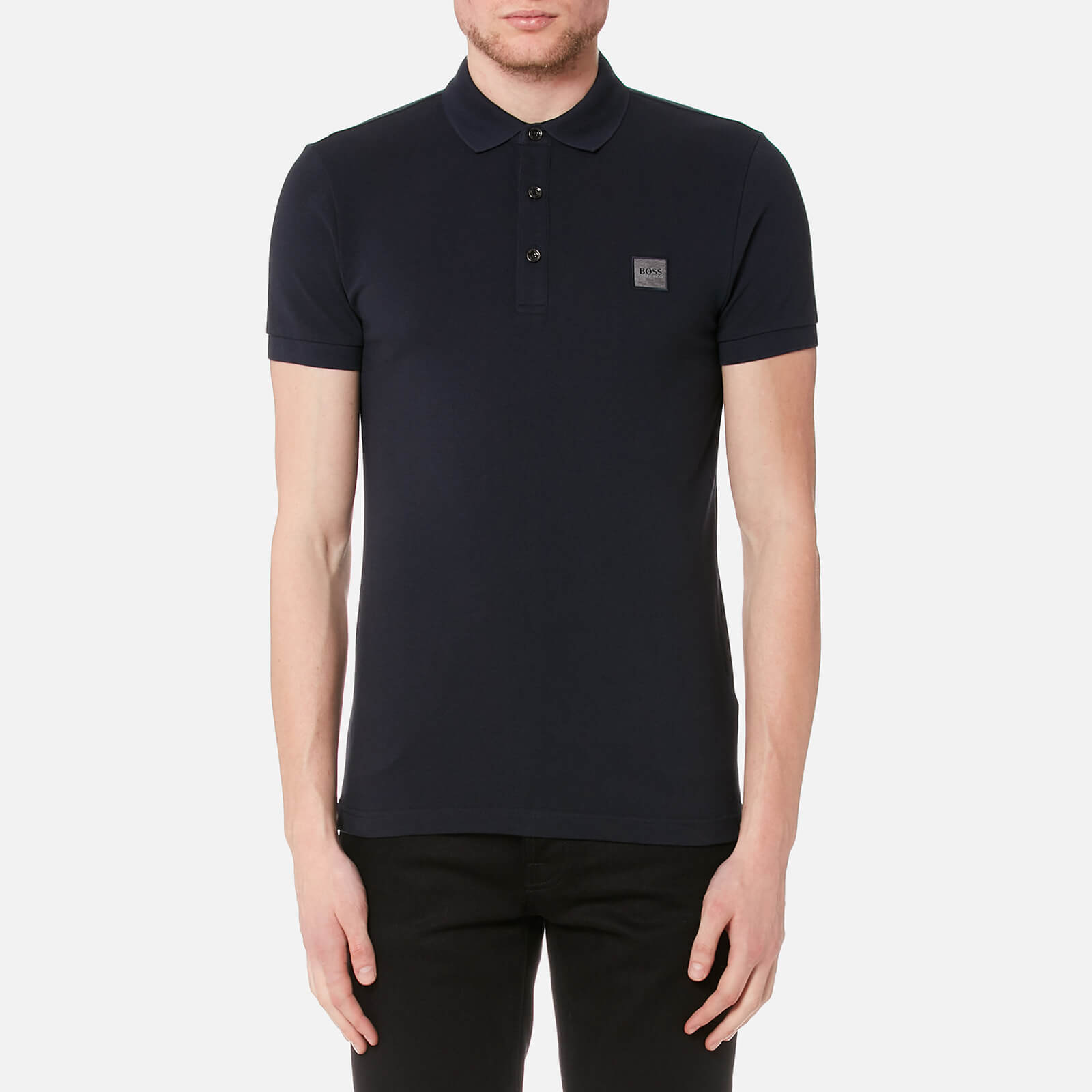 d43834c2 BOSS Men's Passenger Polo Shirt - Navy Clothing   TheHut.com