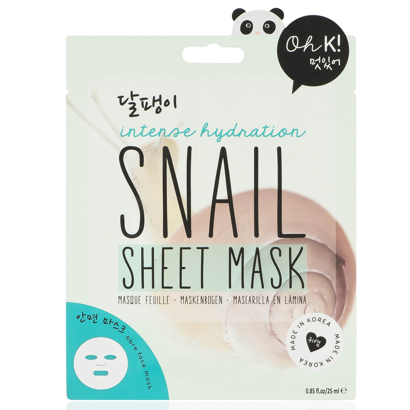 Oh K! Snail Sheet Mask 25ml