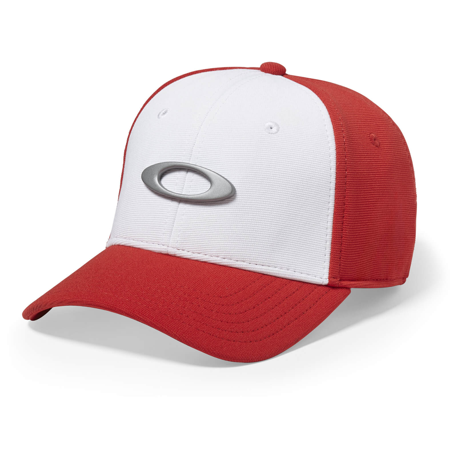 Oakley Tincan Cap - White/Red