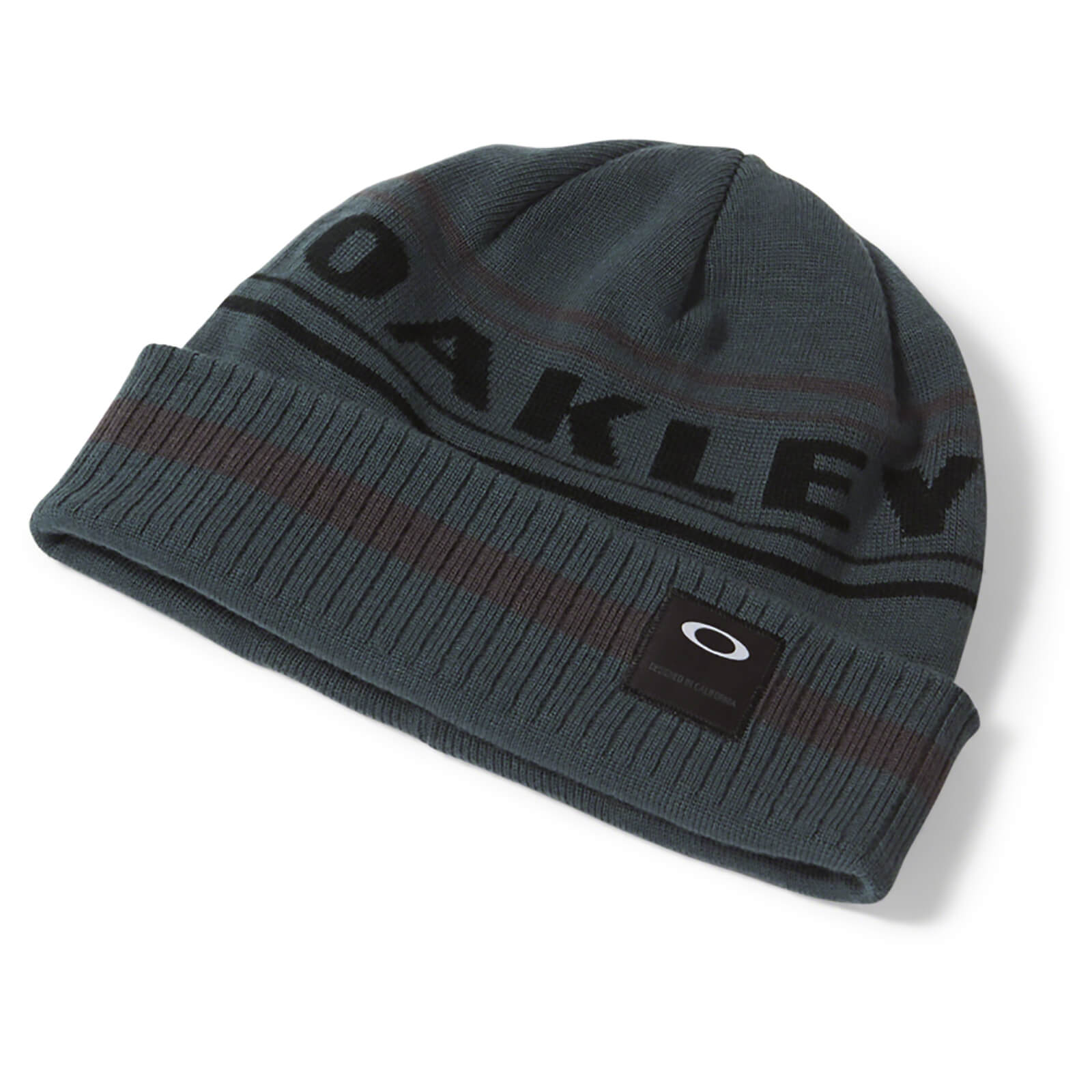 Oakley Rockgarden Cuff Beanie - Dark Grey
