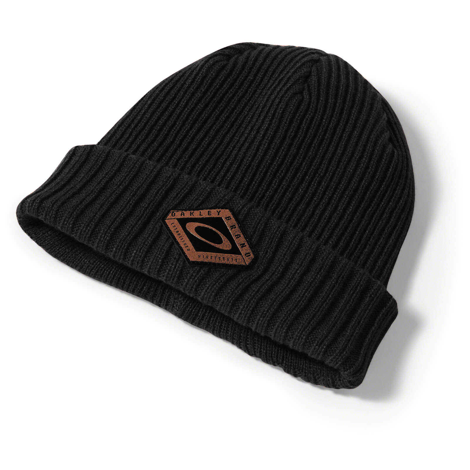 Oakley Dead Tree Cuff Beanie - Black