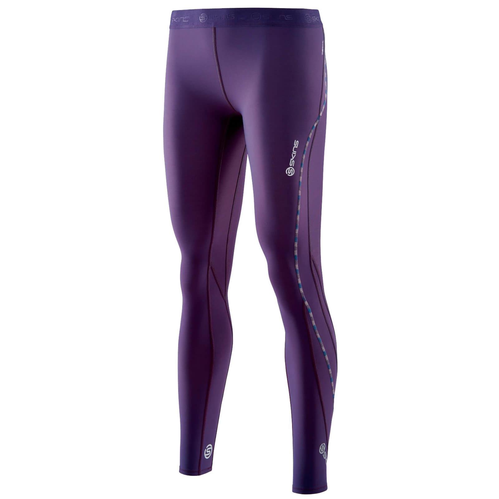 0f90f6b752 Skins Women's DNAmic Thermal Long Tights - Purple Sports & Leisure |  TheHut.com
