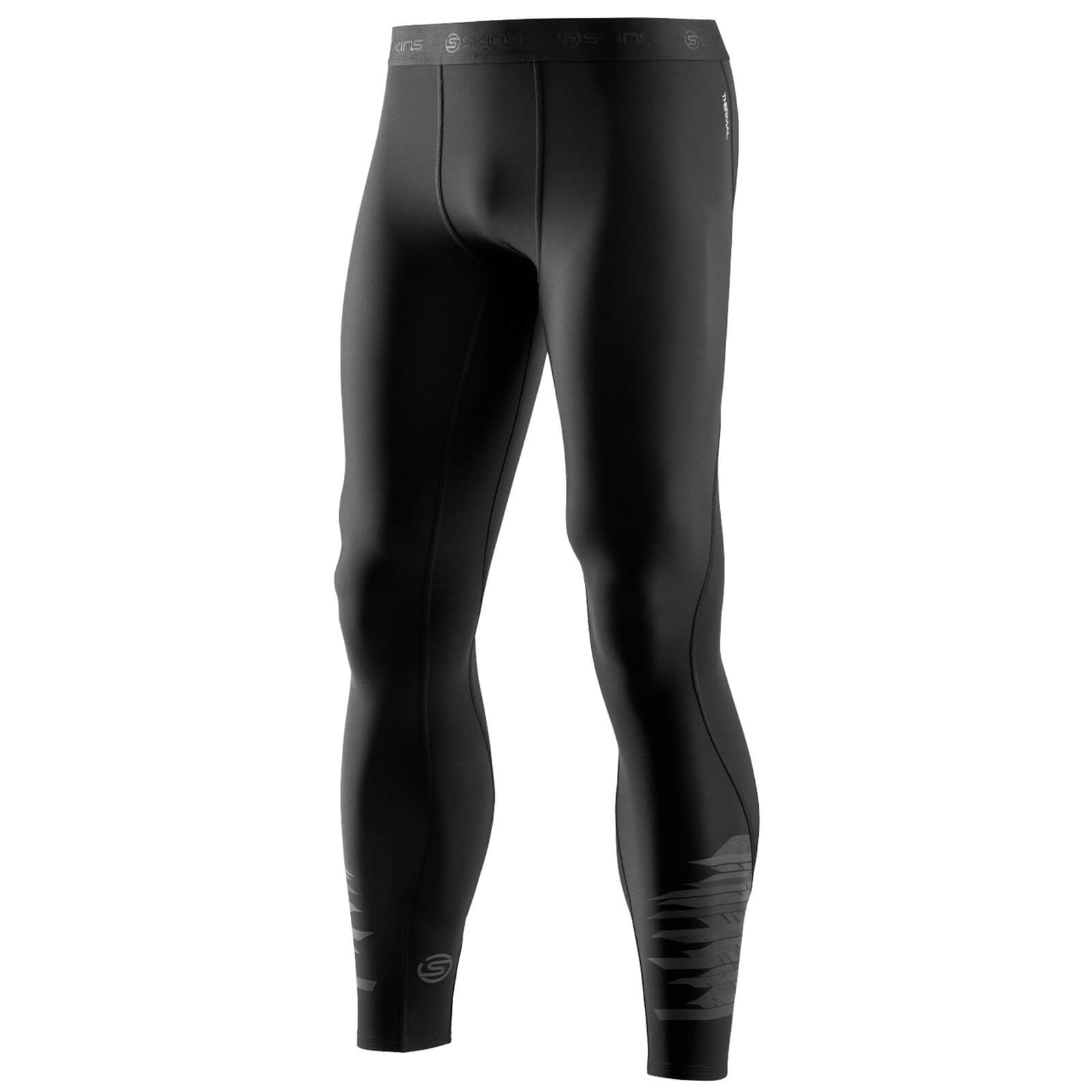 d40bff3b4dae51 Skins Men's DNAmic Thermal Long Tights - Starlight Oblique | ProBikeKit.com