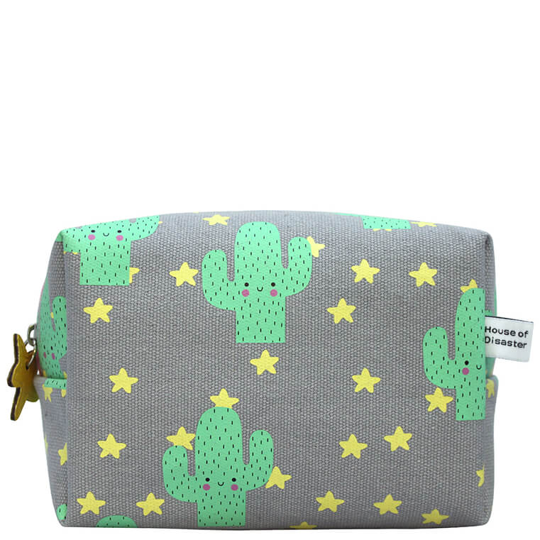 Hi-Kawaii Cactus Make-Up Bag