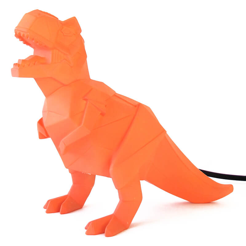 Dinosaur Table Light - Orange