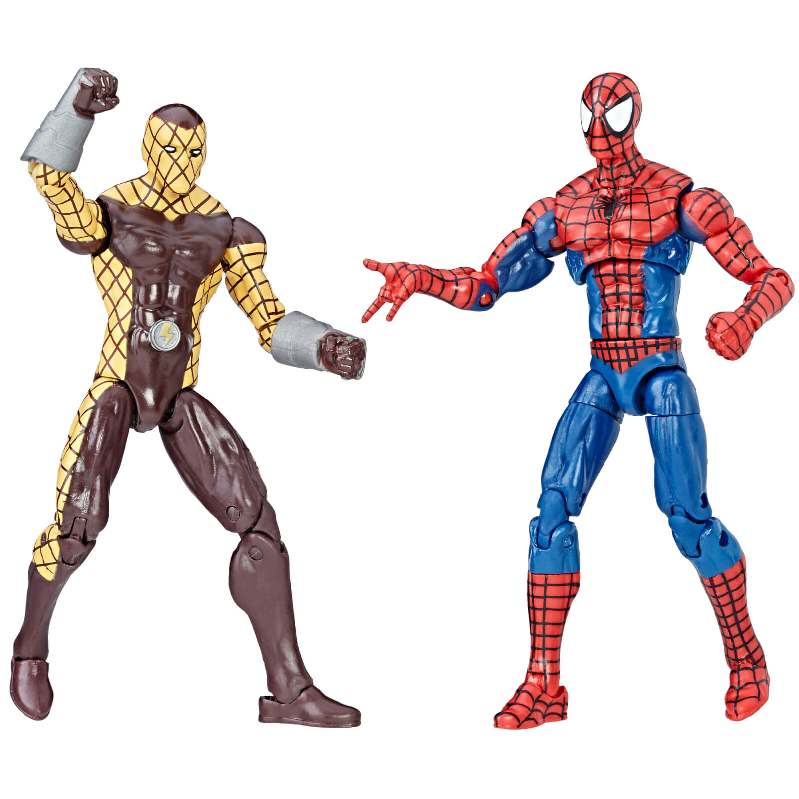 Hasbro Marvel Legends Series Spider-Man and Shocker 2 Pack Action Figures