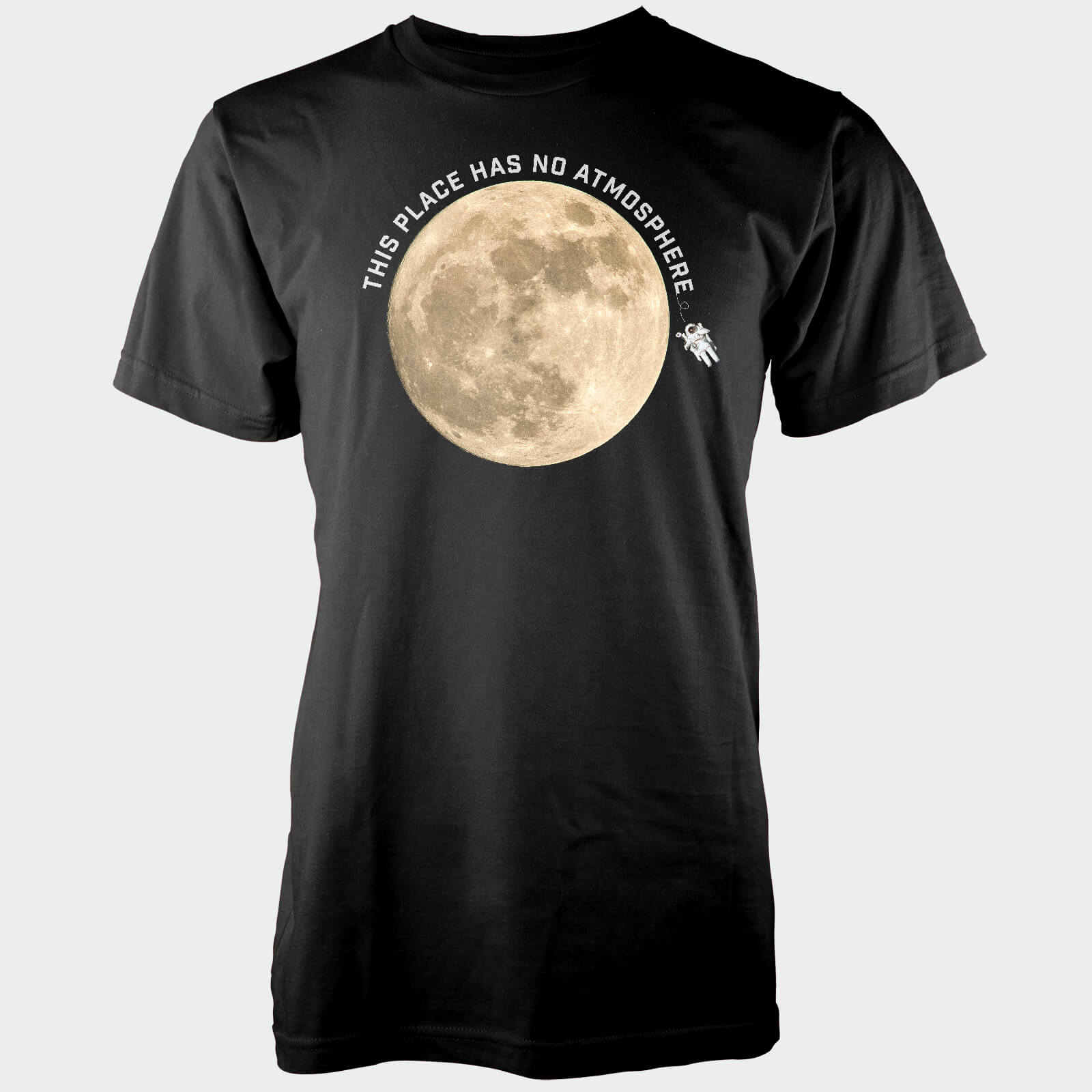 This Place Has No Atmosphere Black T-Shirt