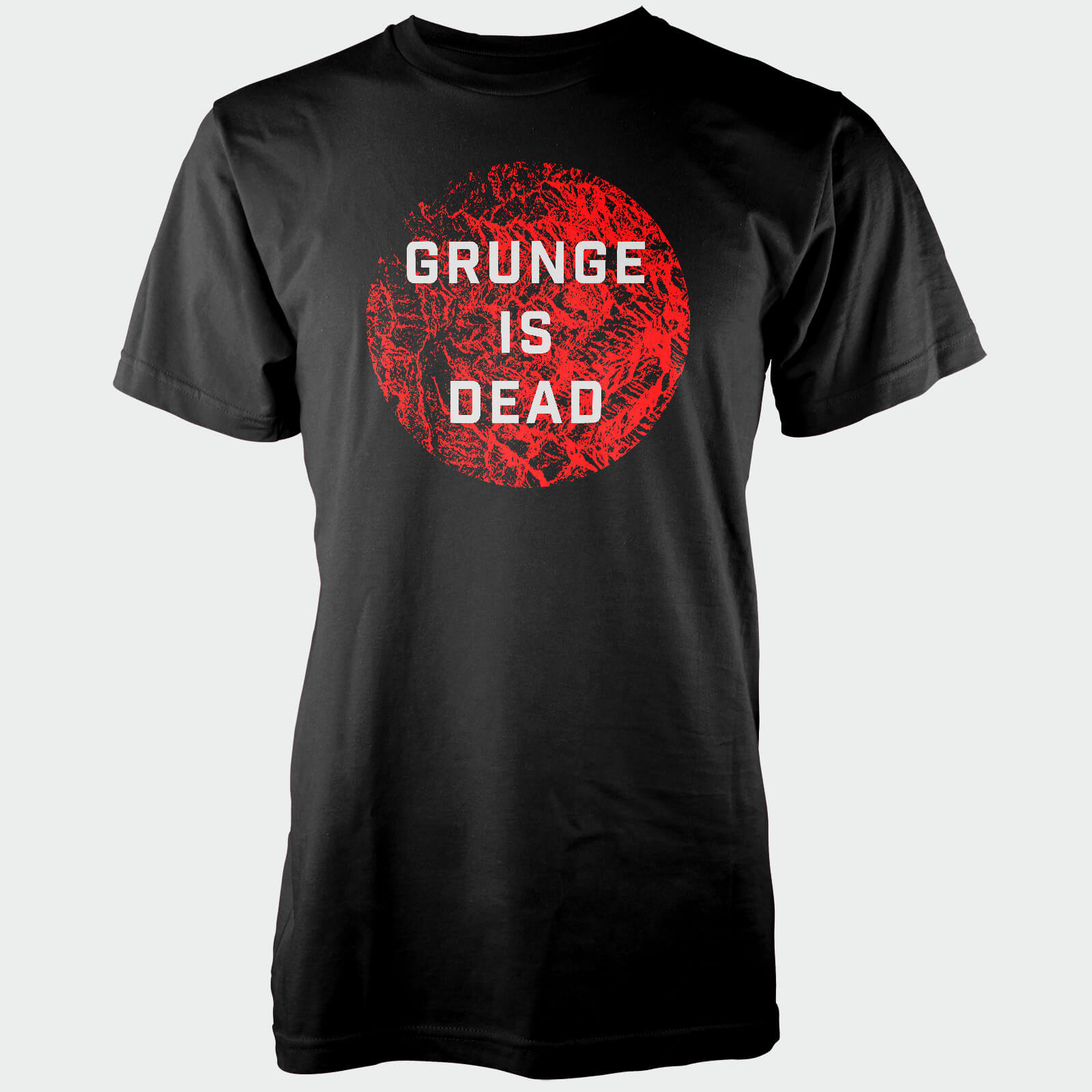 Grunge Is Dead Black T-Shirt