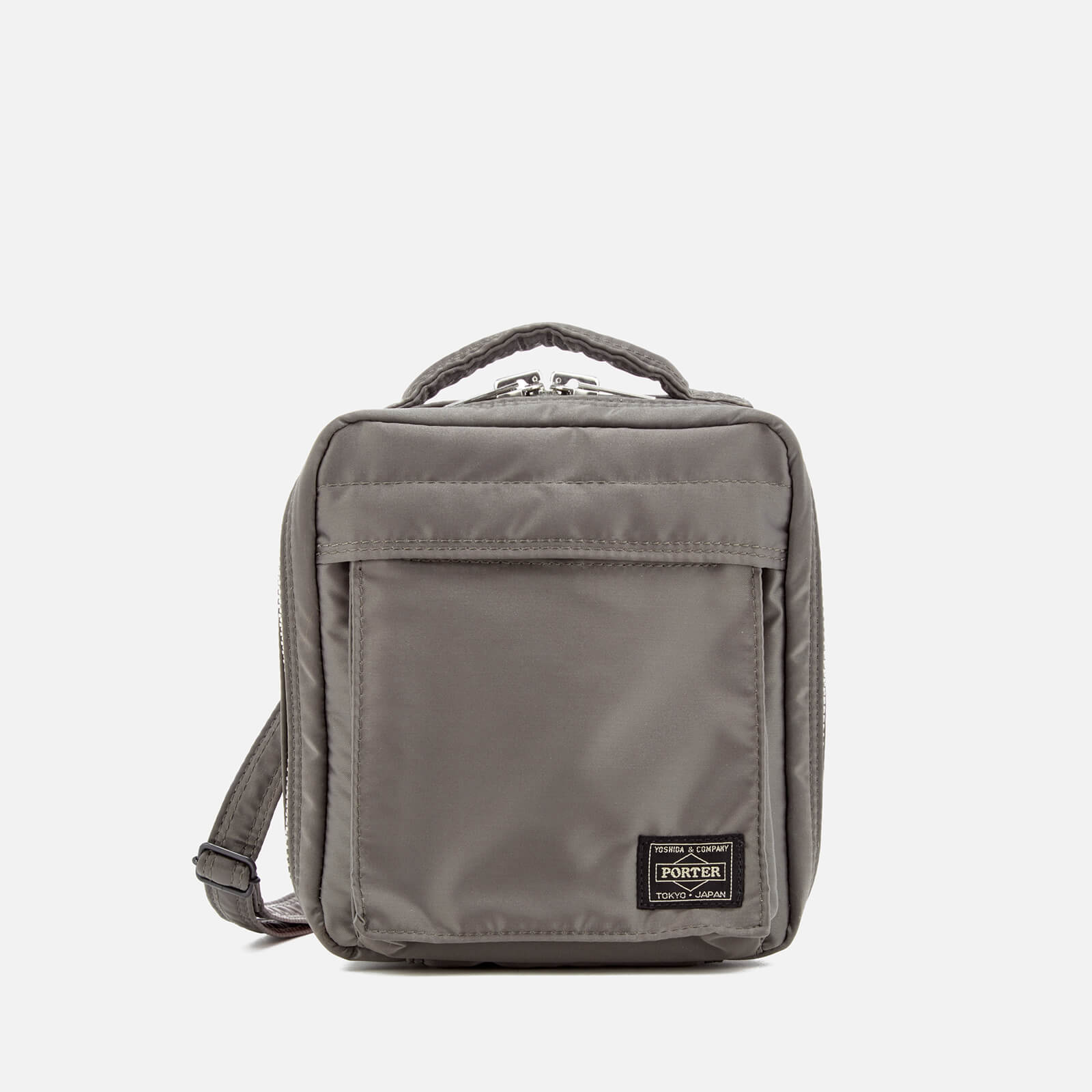 69e1049c67 Men s Tanker Shoulder Bag - Grey Porter-Yoshida   Co. Men s Tanker Shoulder  Bag - Grey