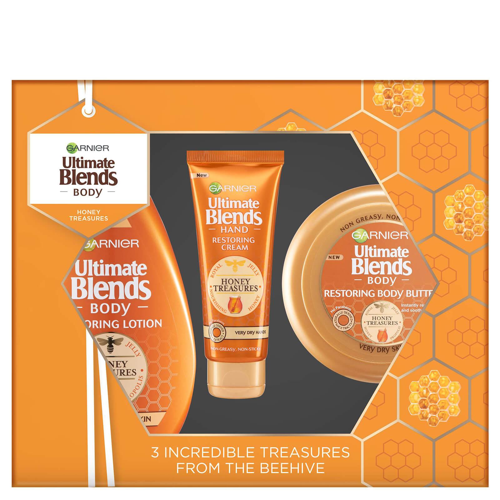Garnier Ultimate Blends Honey Treasures Gift Set