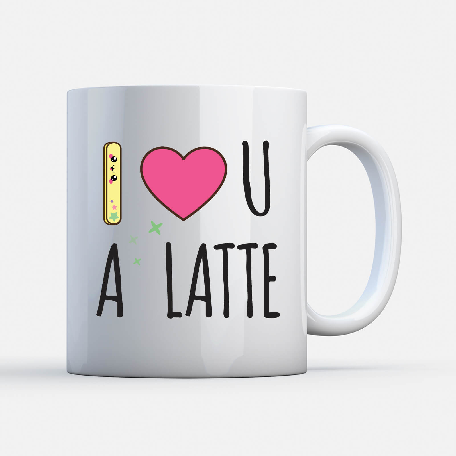Kawaii I Love You A Latte Mug