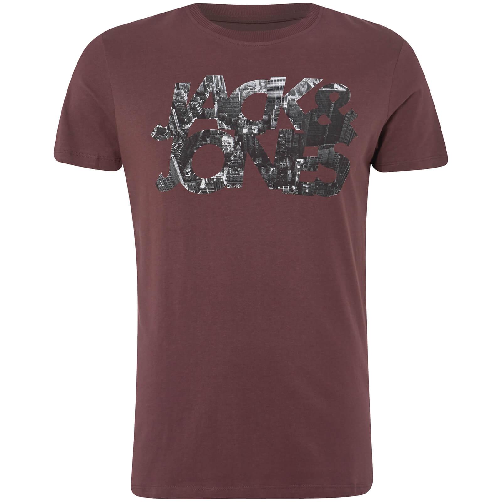 Jack   Jones Core Men s Scallop T-Shirt - Fudge Clothing  24908bb11
