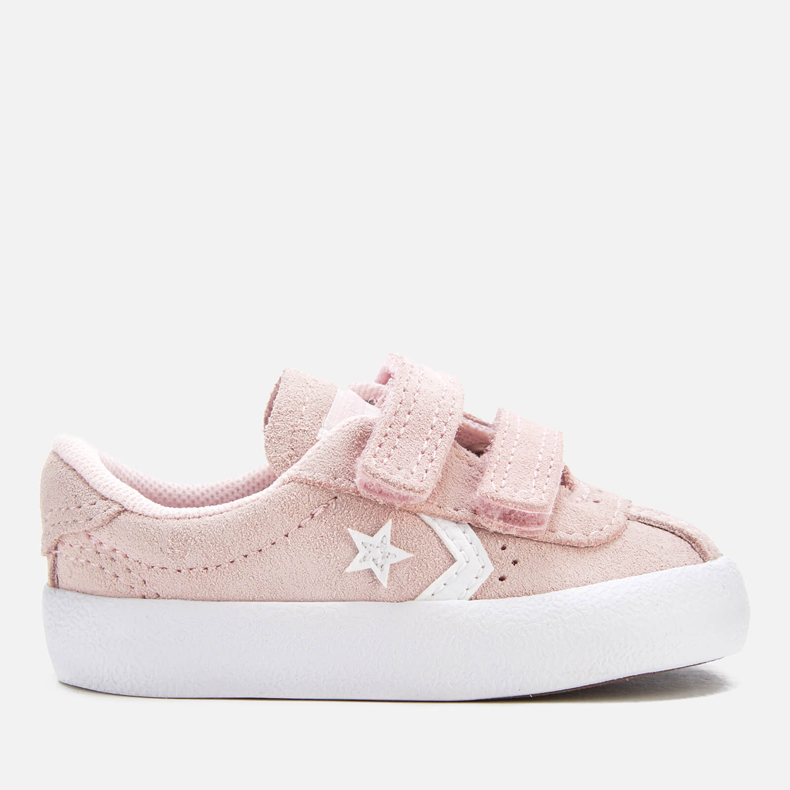 edeef0933d Converse Toddlers' Breakpoint 2V Suede Ox Trainers - Arctic Pink/Arctic  Pink/White