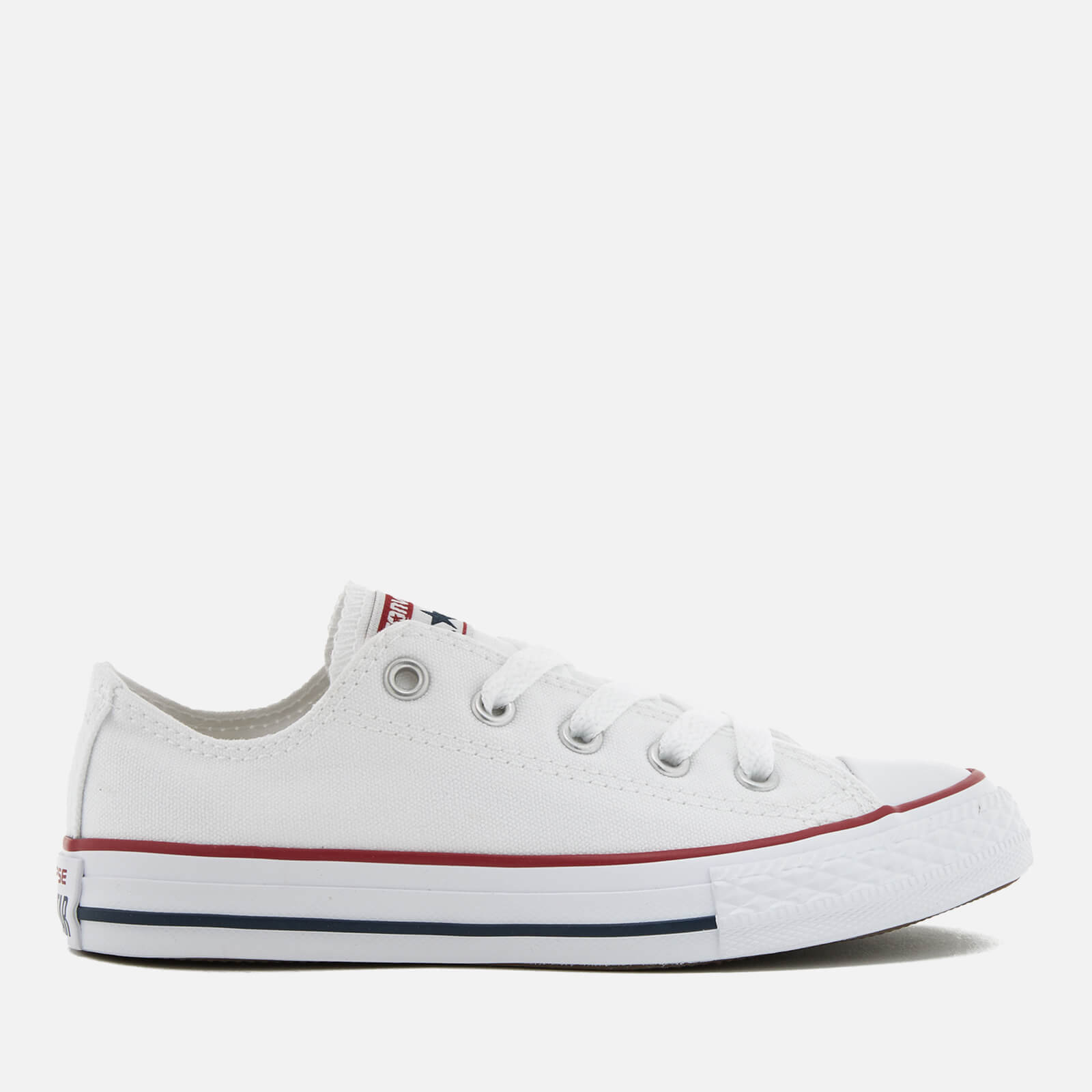 2822bffda97 Converse Kids' Chuck Taylor All Star Seasonal Ox Trainers - Optical White  Junior Clothing | TheHut.com