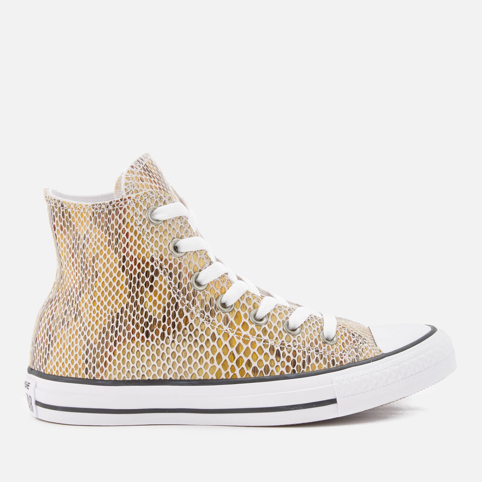 Converse Womens All Star Ox Leather Embossed Skate Shoes