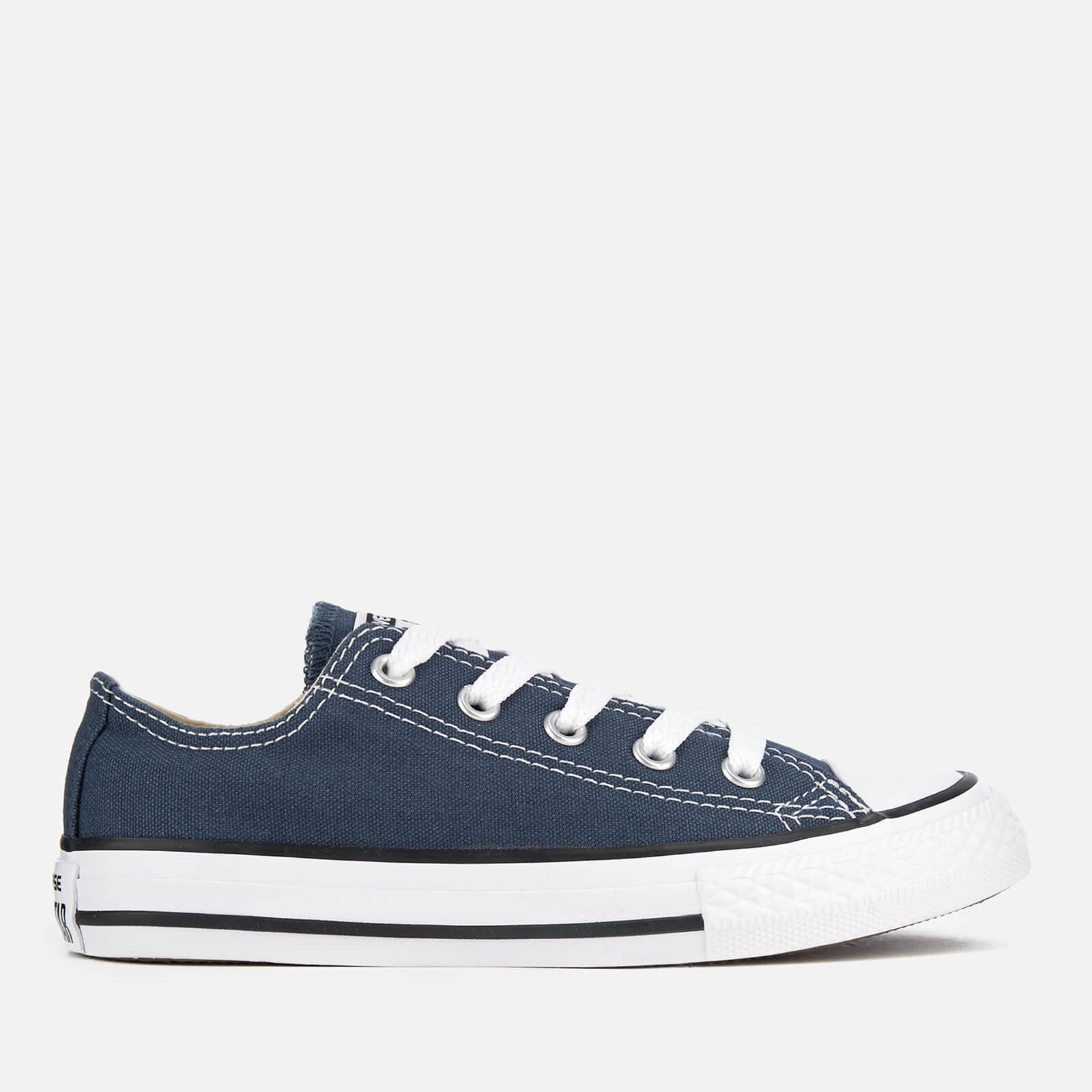 c1f5d6bbb521 Converse Kids Chuck Taylor All Star Ox Trainers - Navy Clothing ...