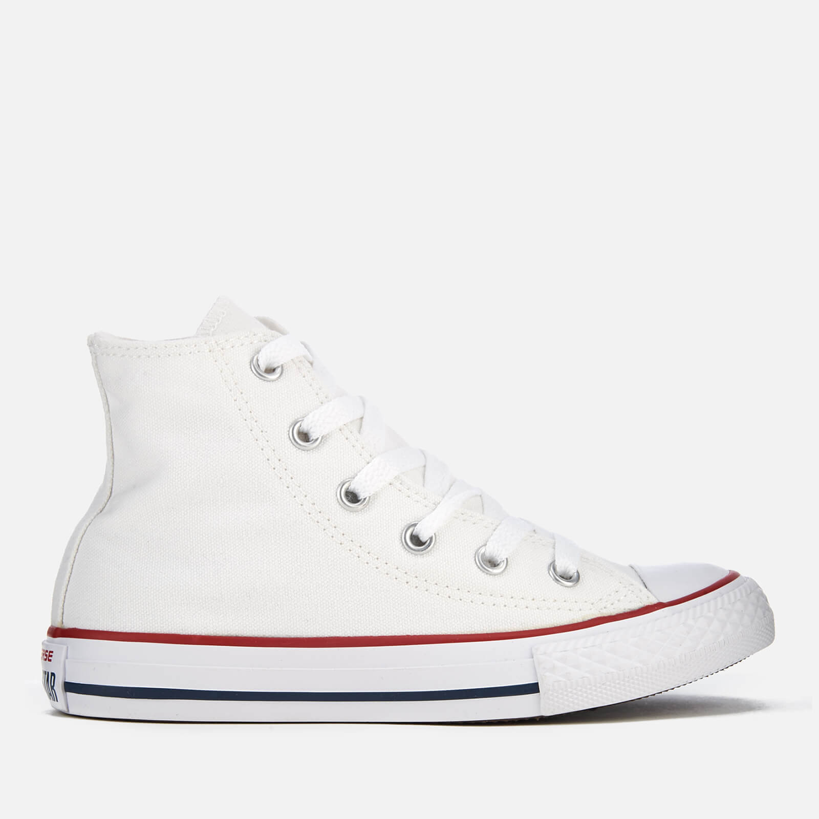 5719af22fb083 Converse Kids Chuck Taylor All Star Hi-Top Trainers - Optical White