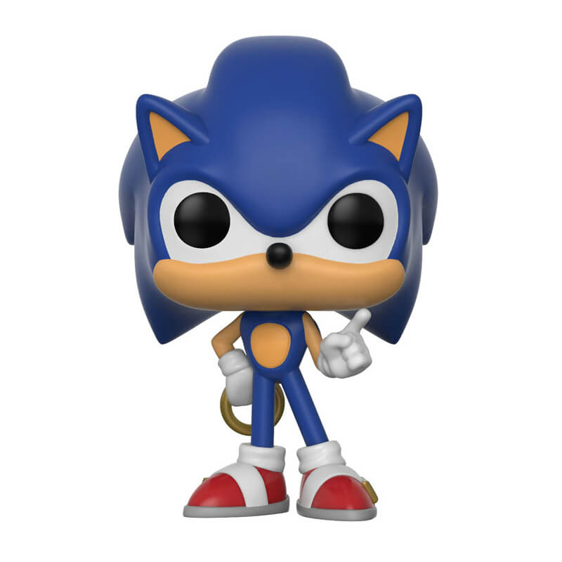 Sonic the Hedgehog Sonic with Ring Pop! Vinyl Figure