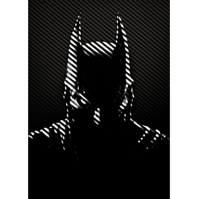 DC Comics Metal Poster - Batman Noir Caped Crusader (32 x 45cm)
