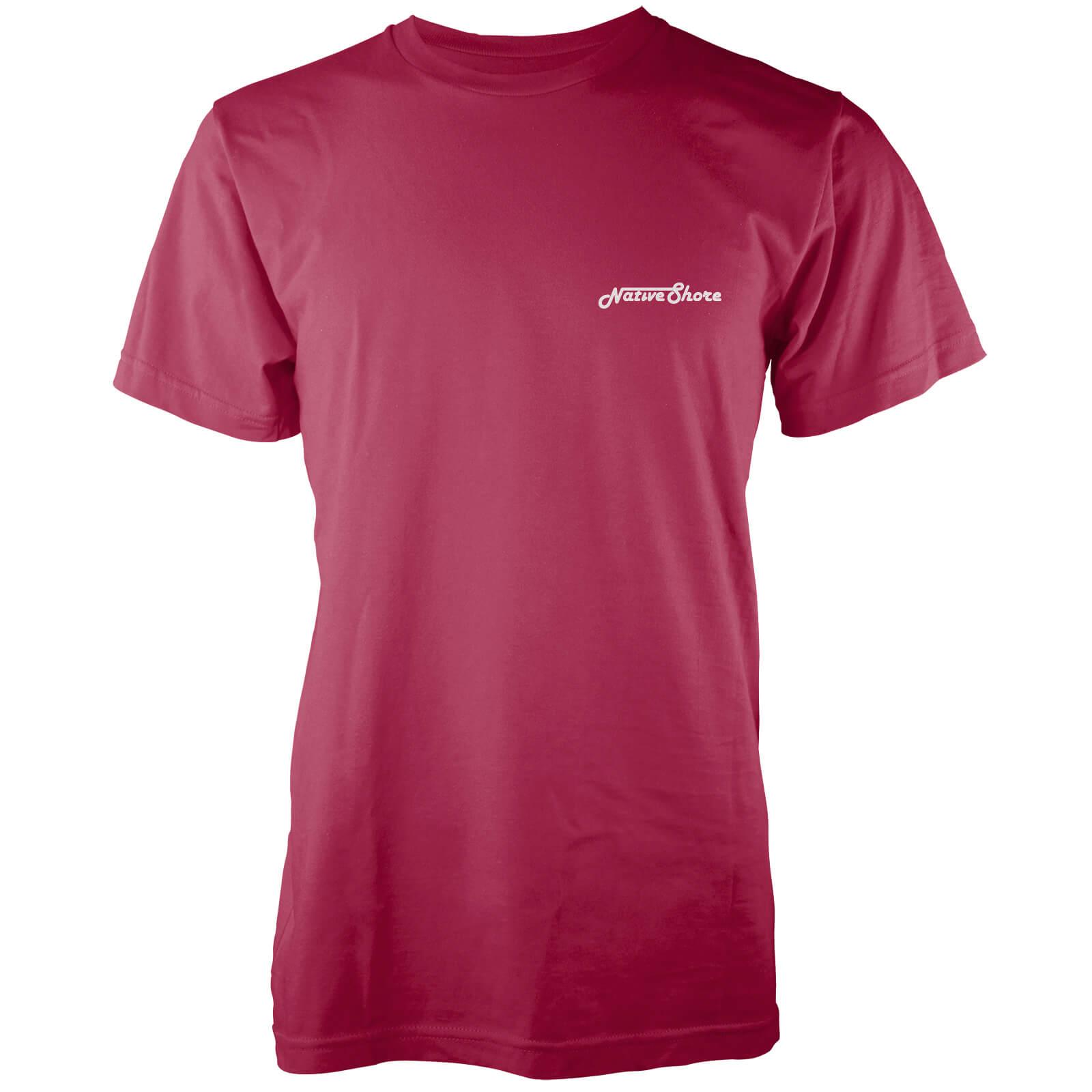 Camiseta Native Shore Core Logo - Hombre - Rojo Clothing  57b4886313e04