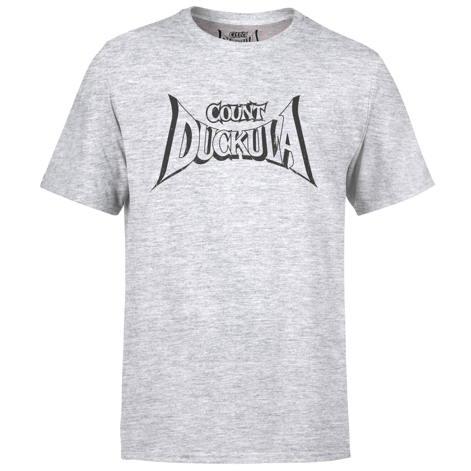 Count Duckula Logo Grey T-Shirt