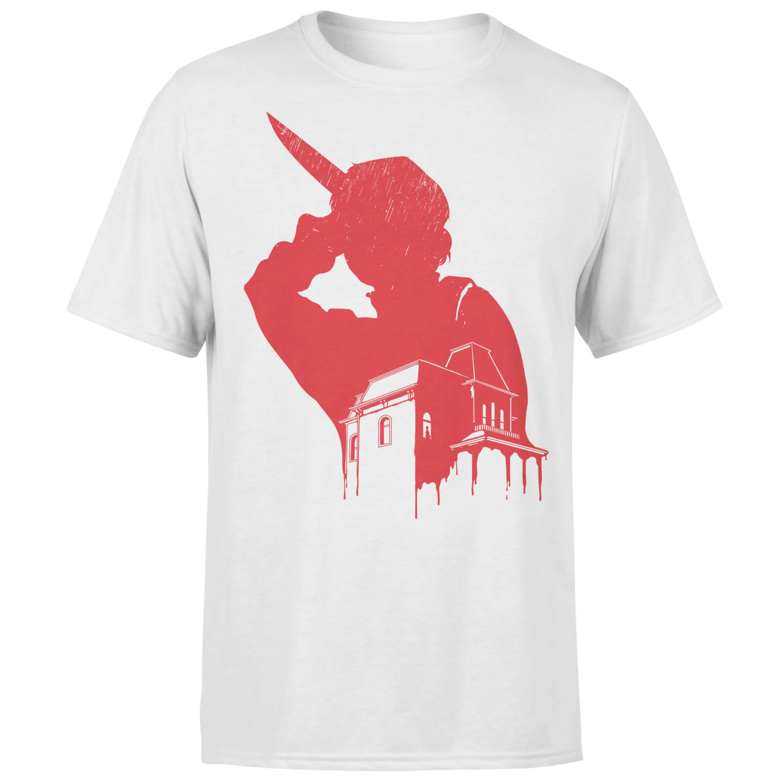 Motel Murder White T-Shirt