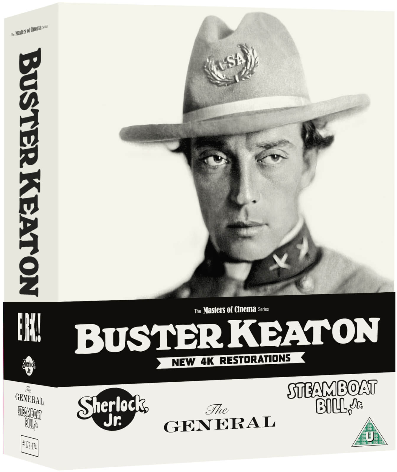Buster Keaton: 3 Films (Sherlock, Jr., The General, Steamboat Bill, Jr.) (Masters Of Cinema) Limited Edition