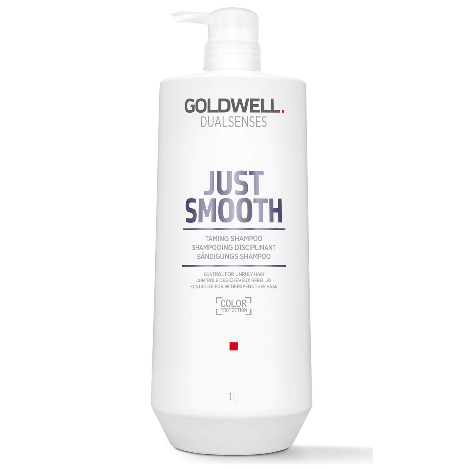 Goldwell Dualsenses Just Smooth Taming Shampoo 1000ml Beautyexpert Twin Pack Kit Wiper Fluid Pouch 400ml X 2pcs