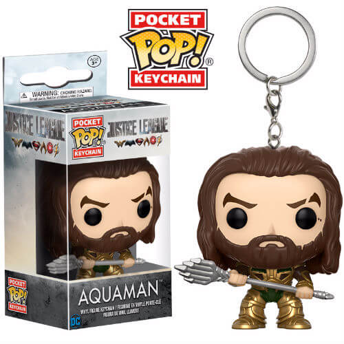 Justice League Aquaman Pop! Keychain