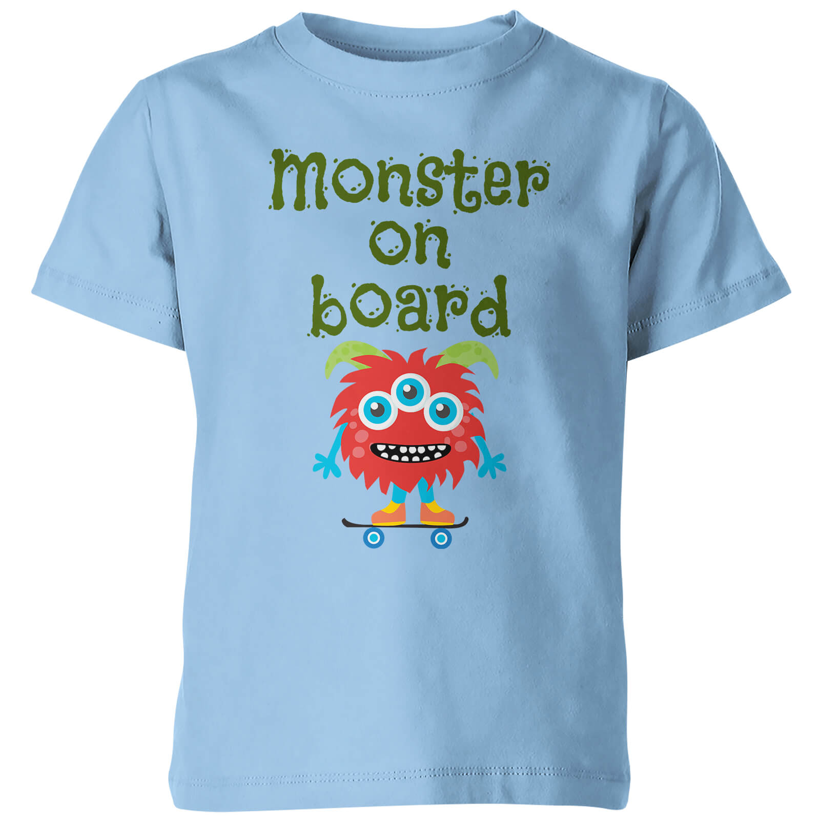 My Little Rascal Monster On Board Kids