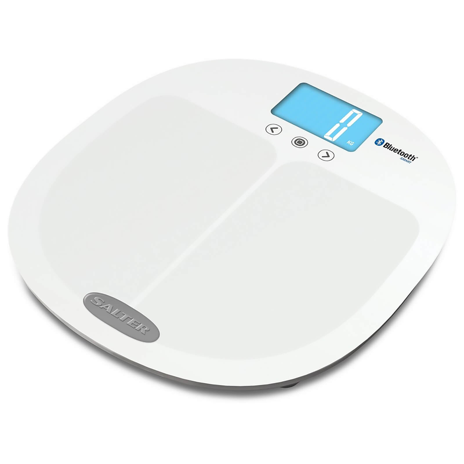 Salter Curve Bluetooth Smart Analyser Pro Scale - White