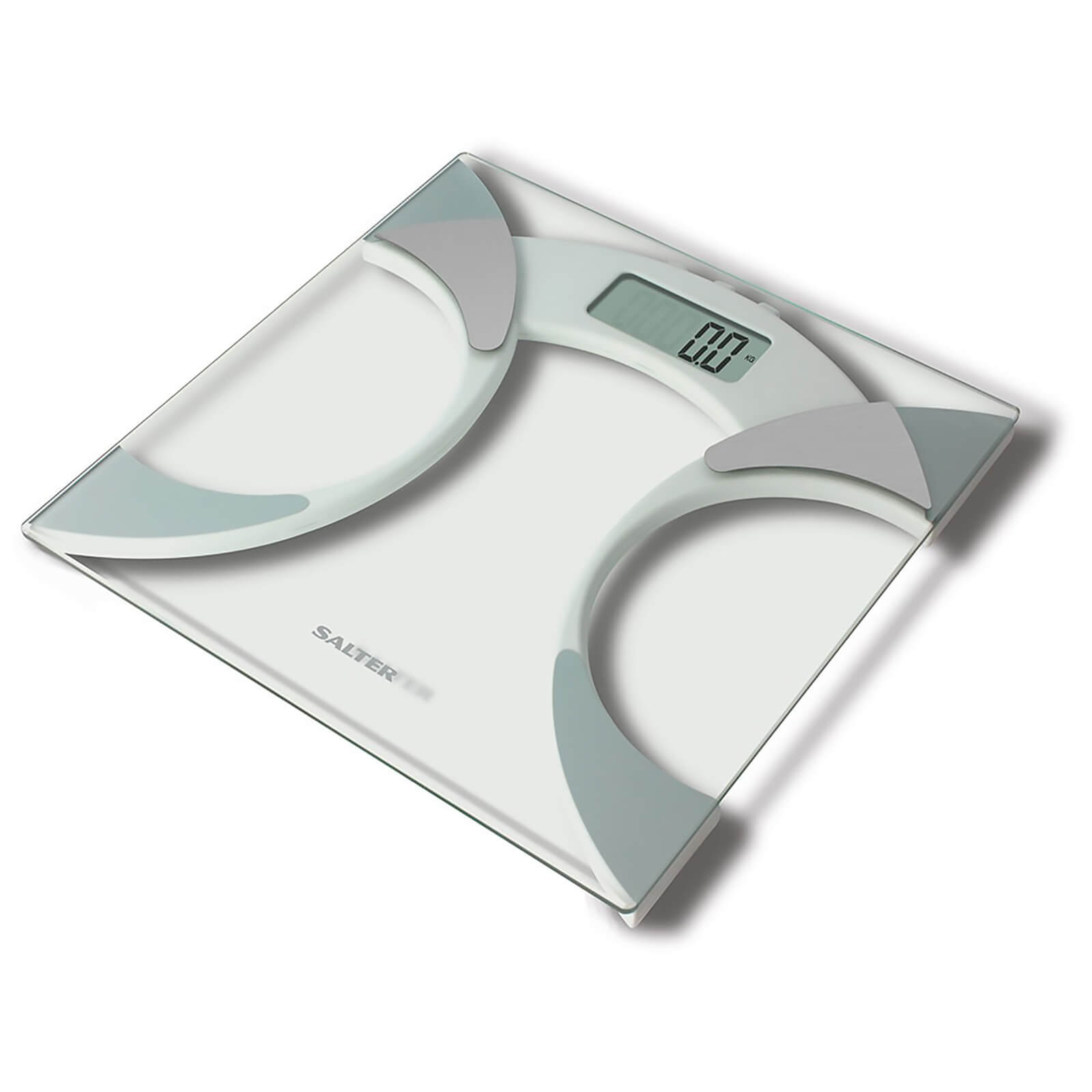 Salter Glass Analyser Scale - White