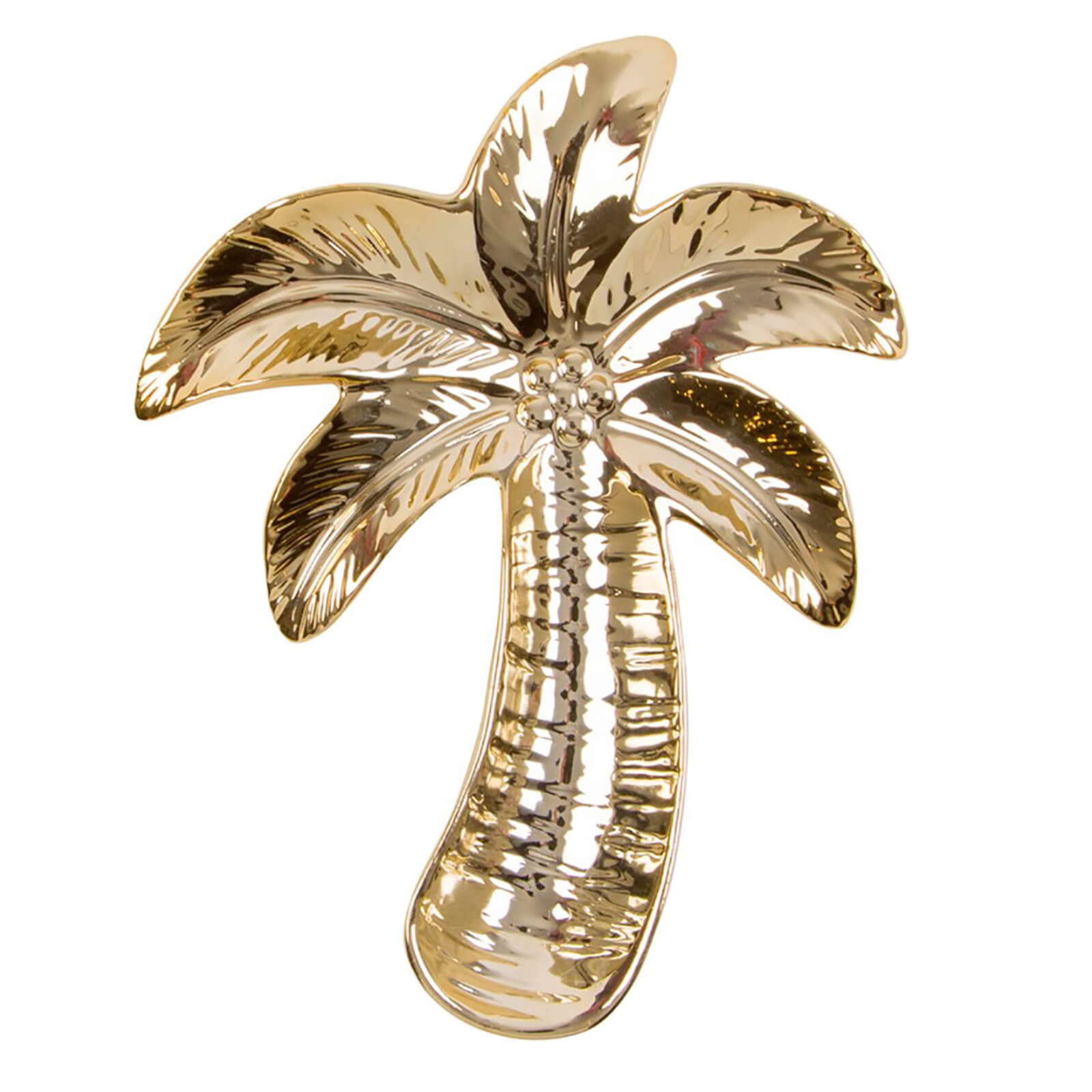 Sass & Belle Gold Palm Tree Shaped Trinket Dish