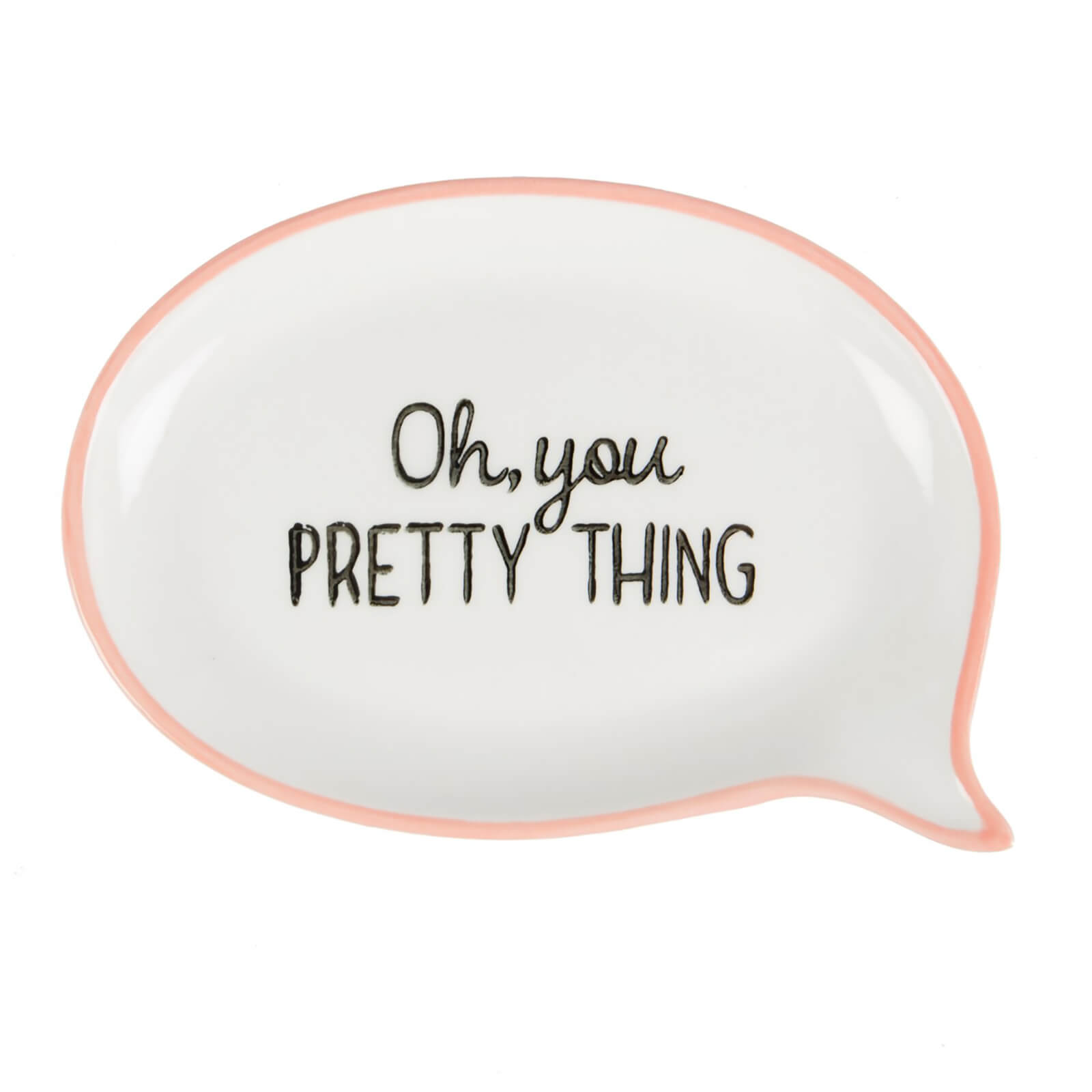 Sass & Belle Oh, You Pretty Thing Sweet Speech Jewellery Dish - Pink