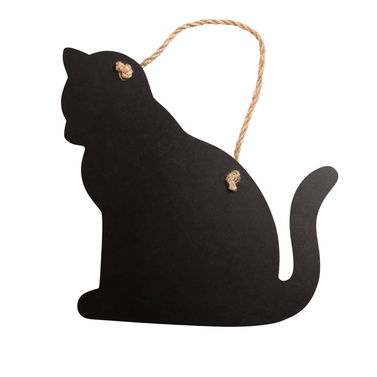 Sass & Belle Hanging Chalk Board Cat - Small