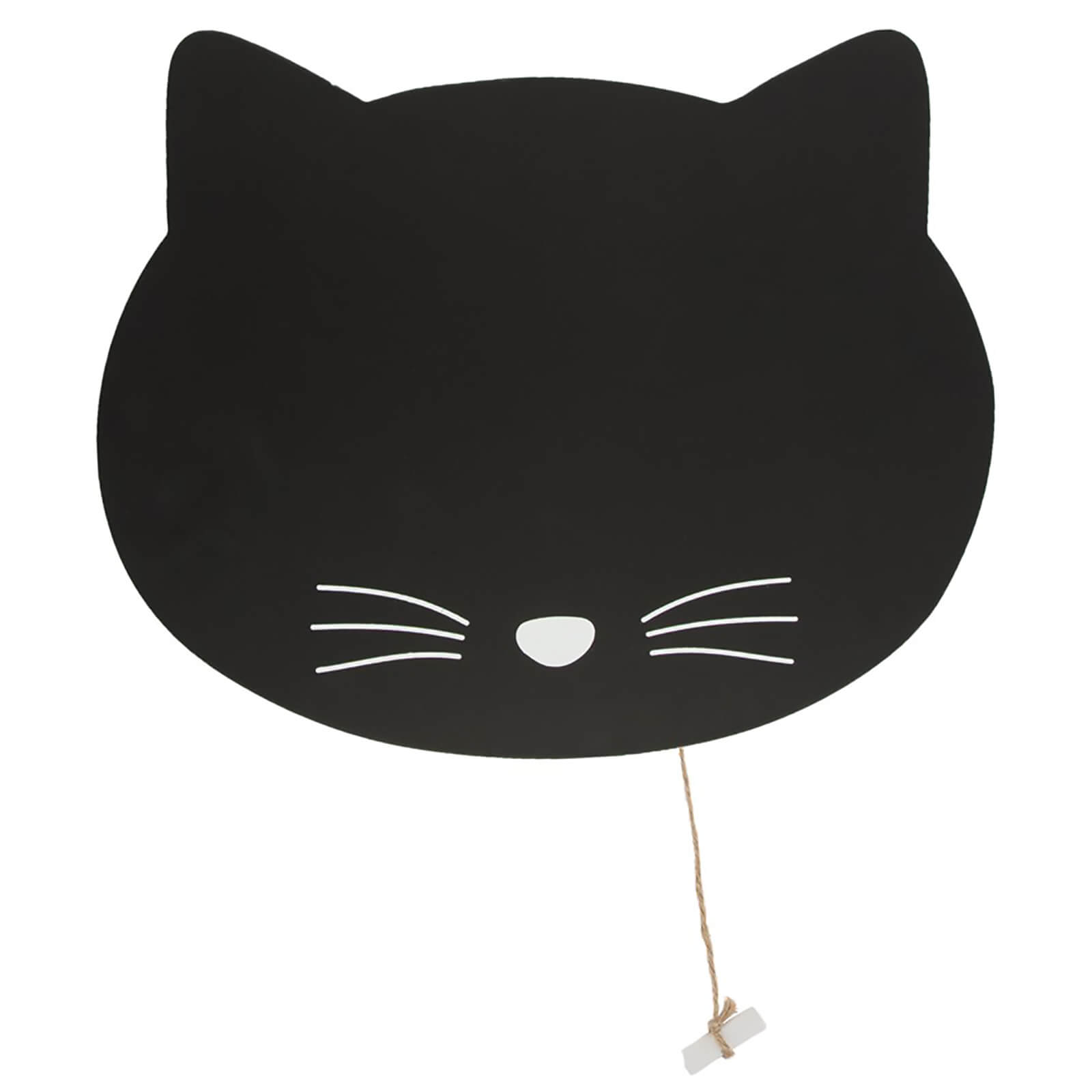 Sass & Belle Black Cat Chalkboard
