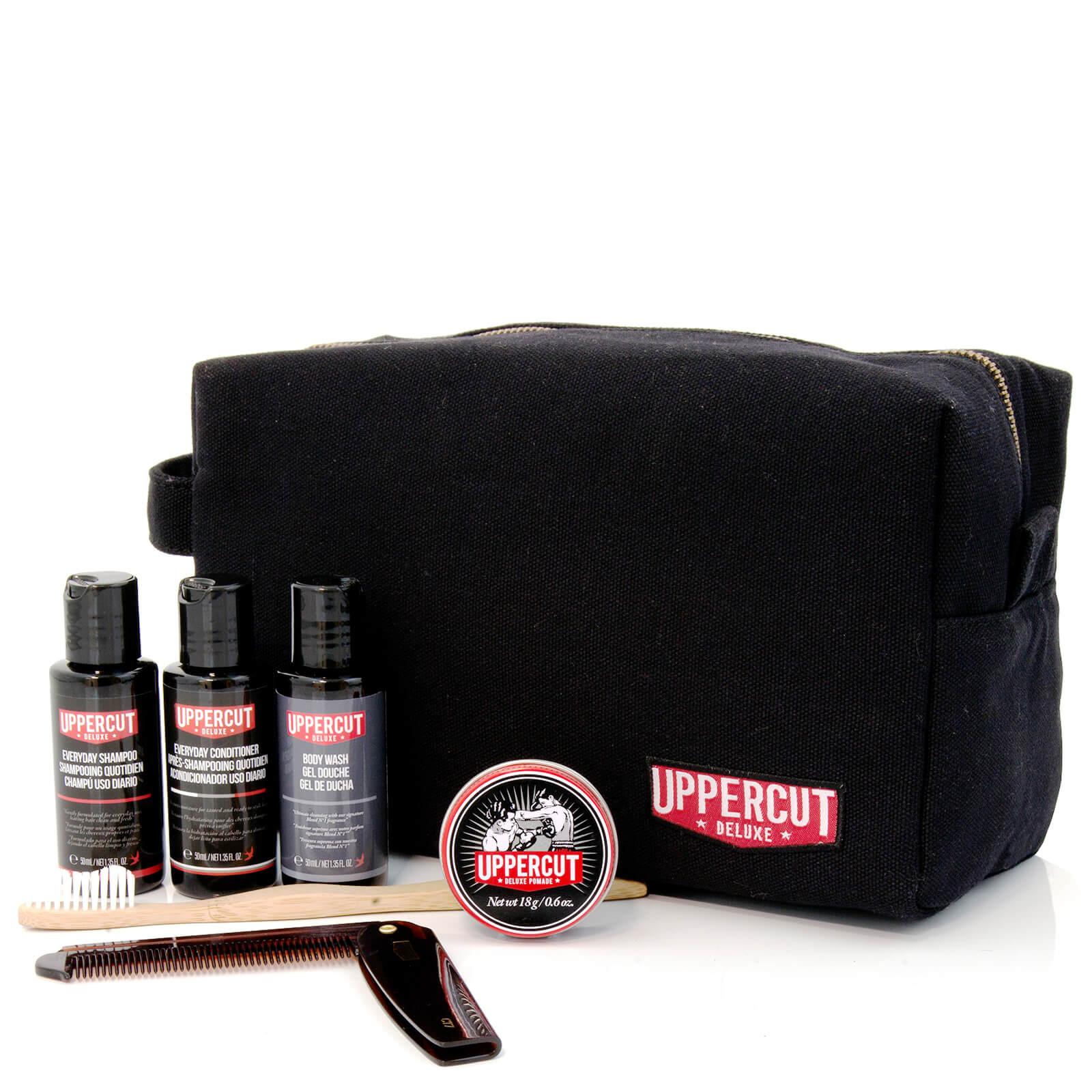 16b65b96c87a3 Uppercut Deluxe Wash Bag - Filled Black (Worth £48.00). Description