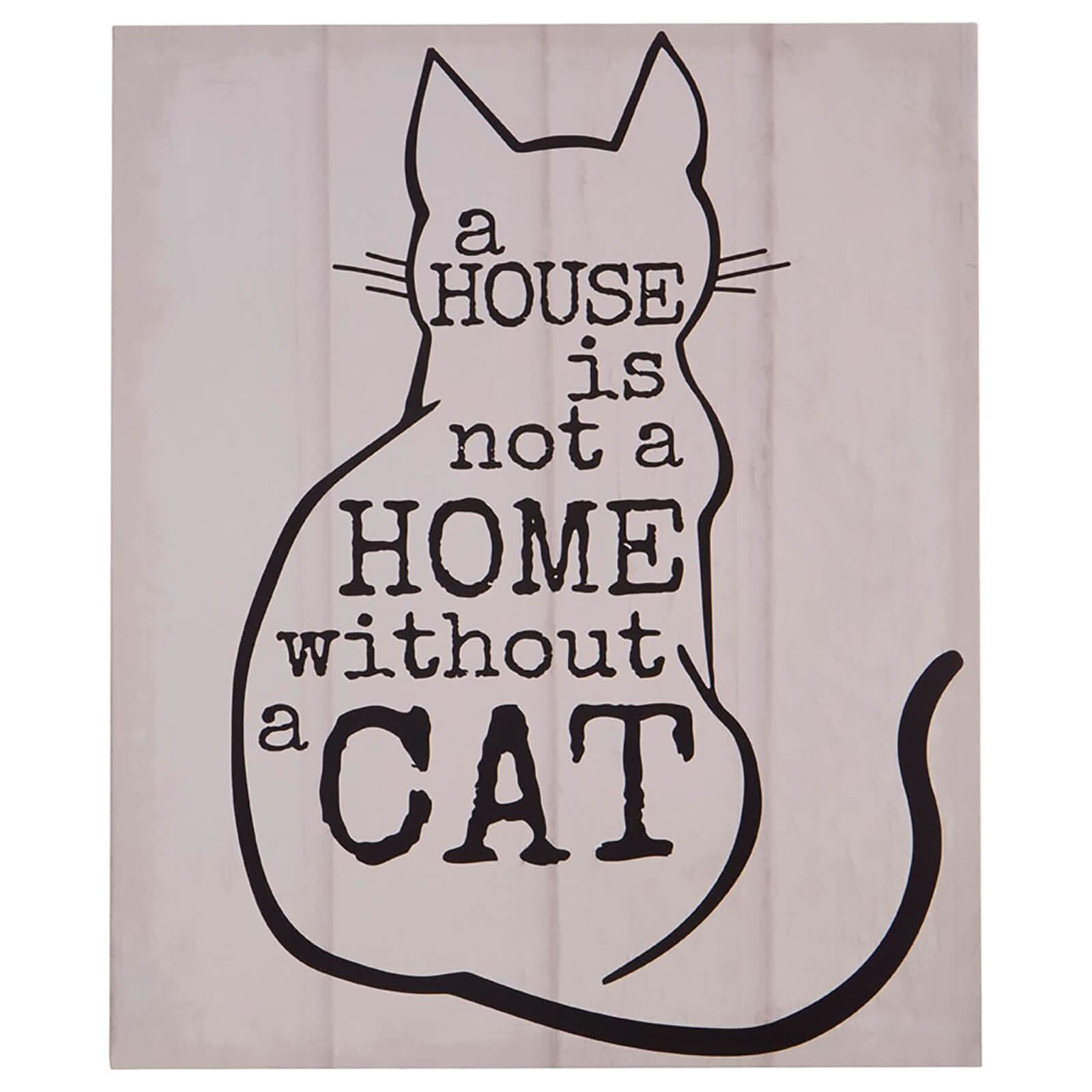 Cat Wall Plaque
