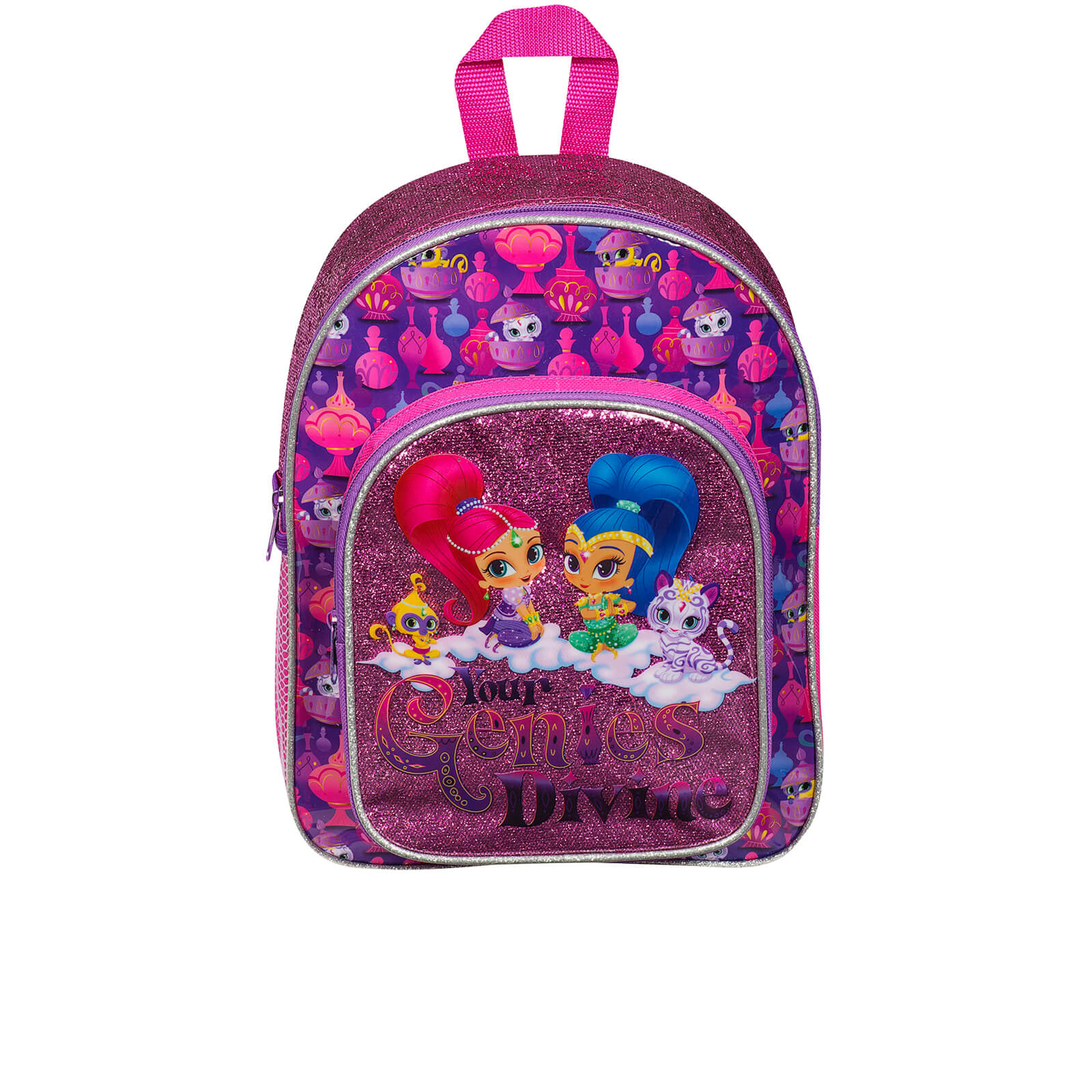 Nickelodeon Shimmer and Shine Glitter Backpack - Purple