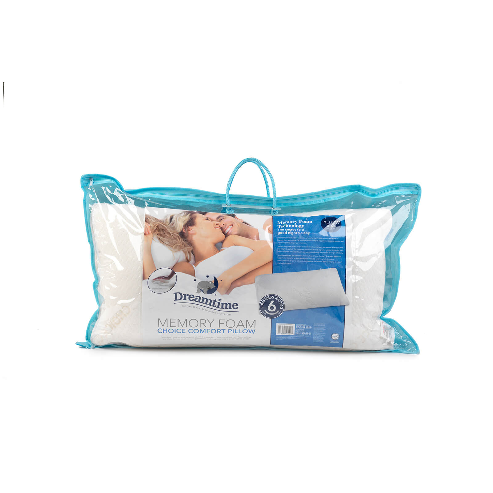 Dreamtime Choice Comfort Pillow - White