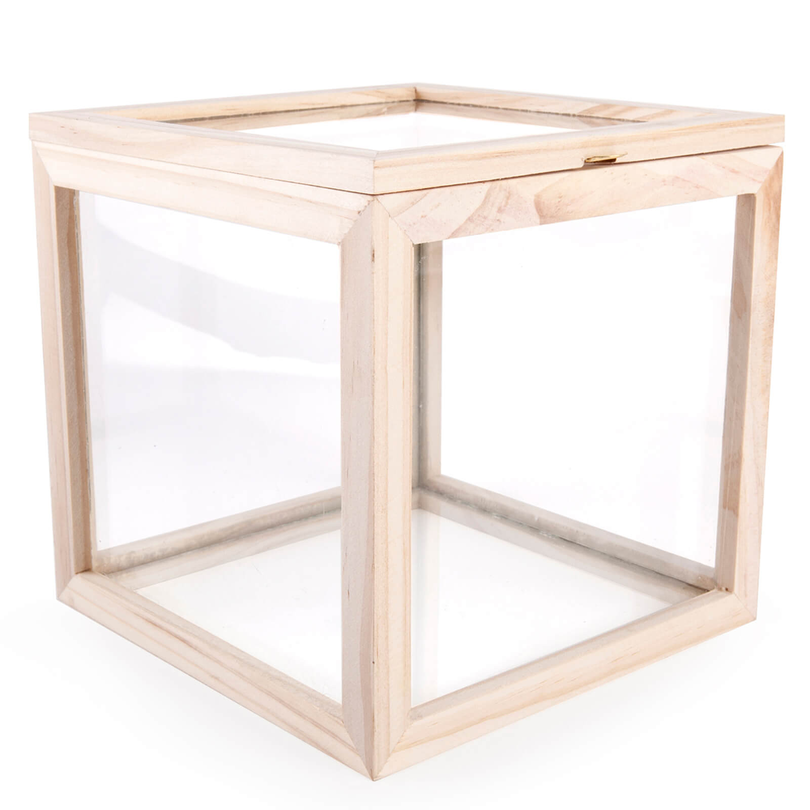 Square Storage Box - Glass