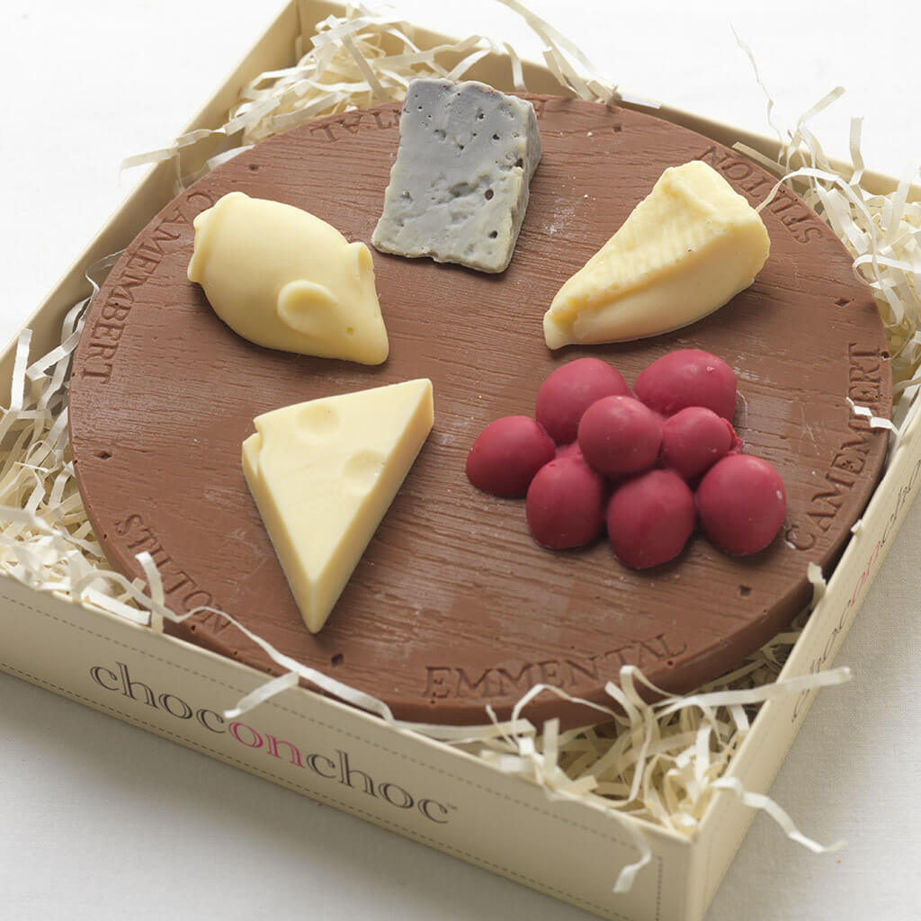 Cheeseboard Handmade Belgian Chocolate