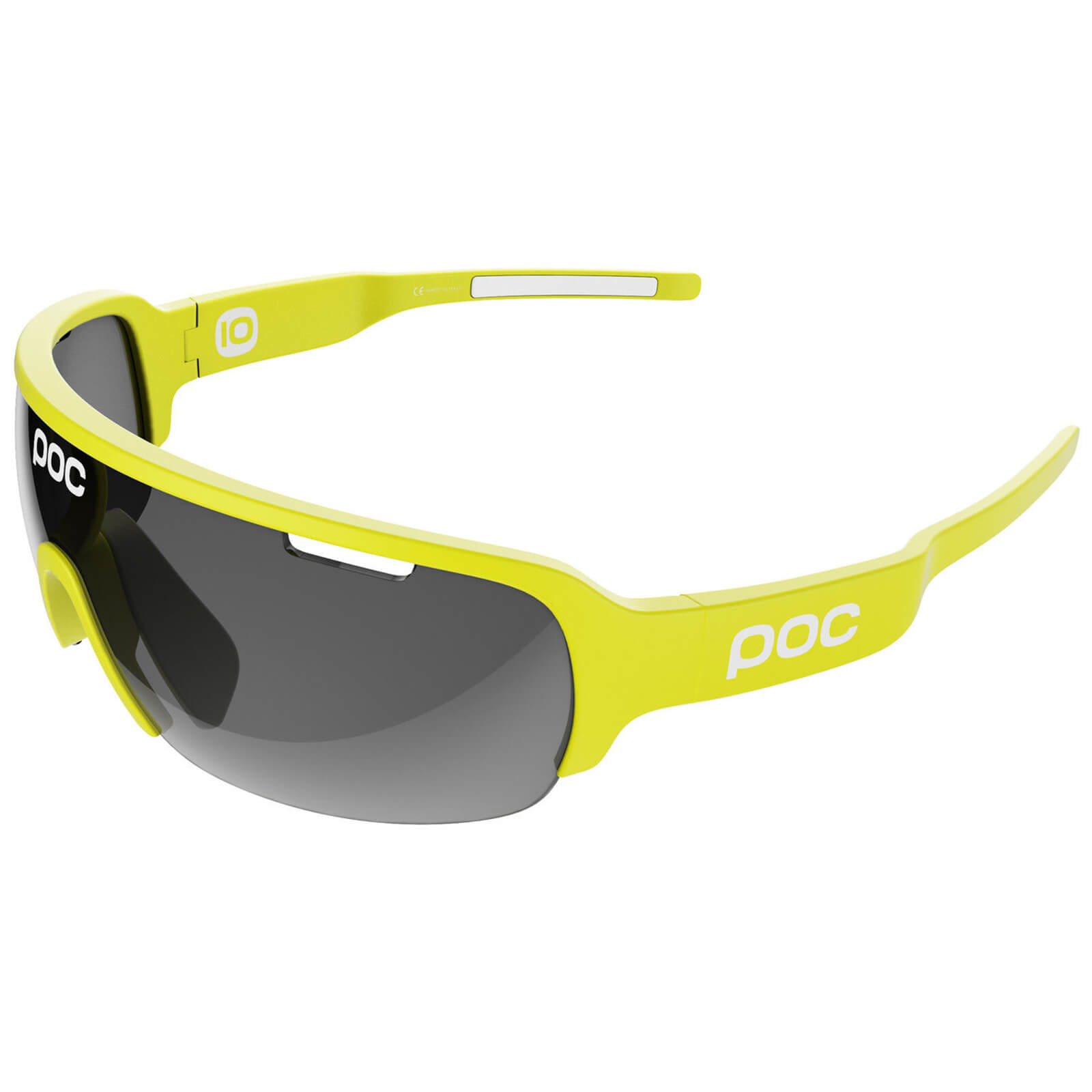 POC DO Half Blade Sunglasses - Unobtanium Yellow