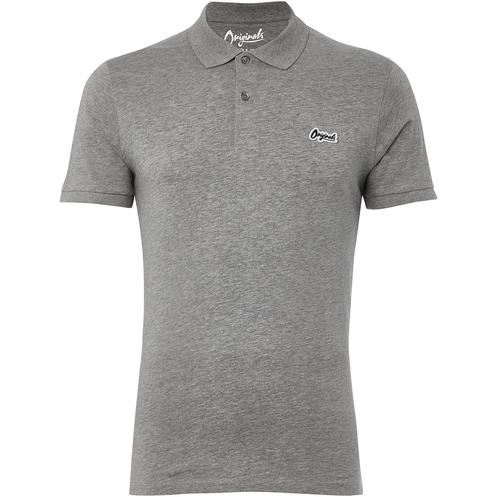 Jack   Jones Originals Men s Jet Jersey Polo Shirt - Light Grey Marl  Clothing  ec036eb429799
