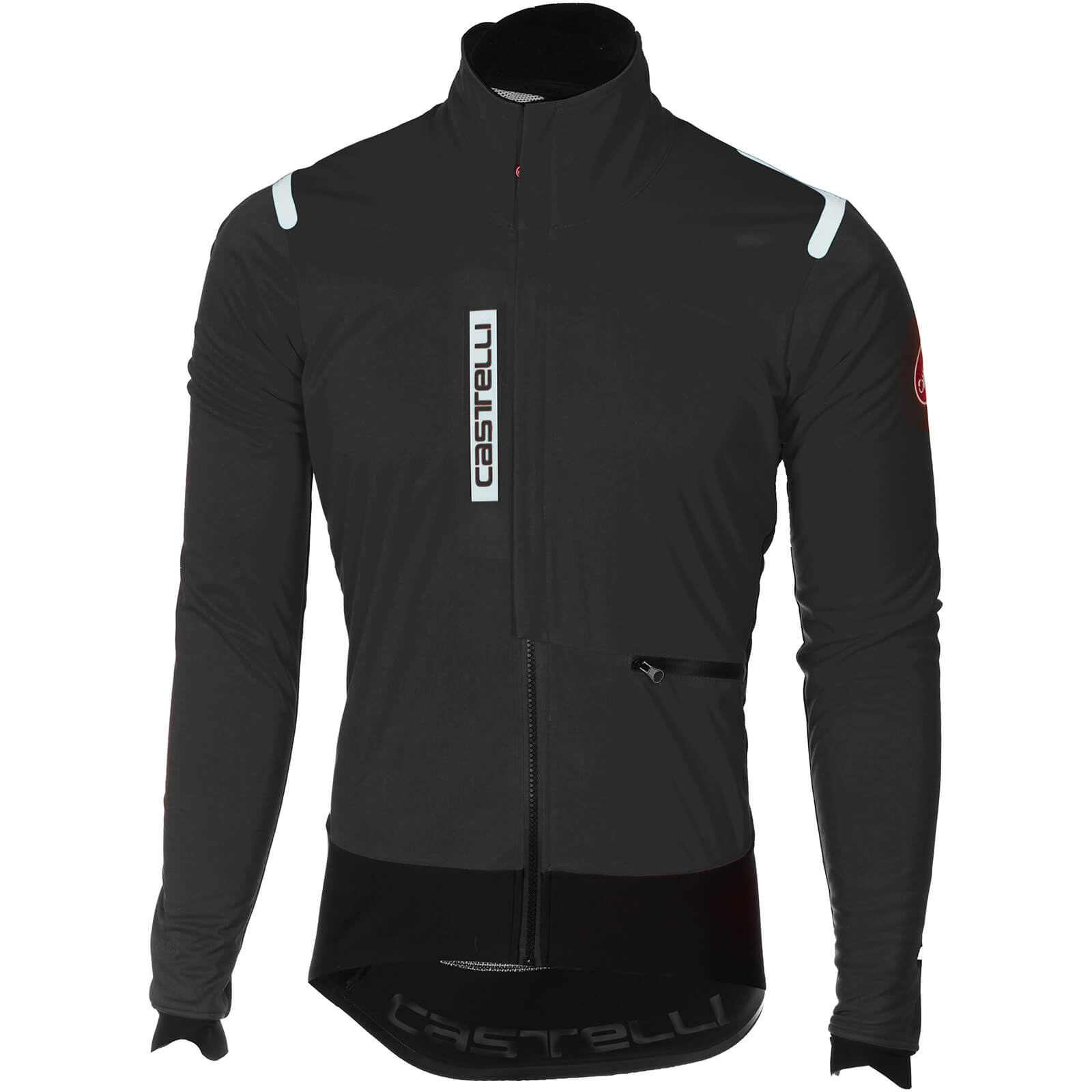 Castelli Alpha Ros Jacket - Light Black